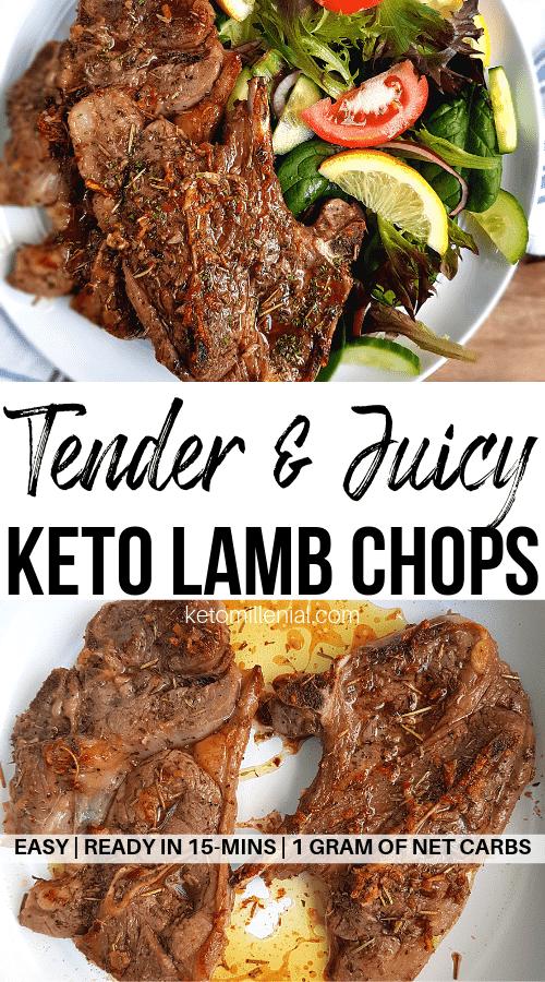 lamb chop recipe keto Easy 2-Minute Keto Lamb Chops Recipe