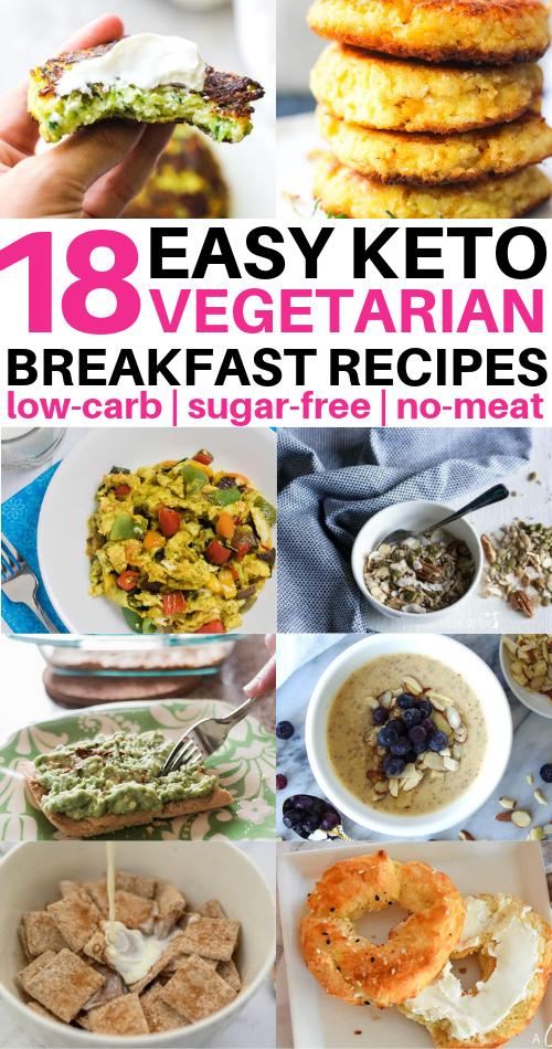 18 Keto Vegetarian Breakfast Ideas Too Good To Miss