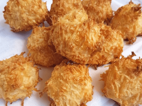 3 Ingredient Keto Coconut Macaroons Gluten Free Sugar Free With Video